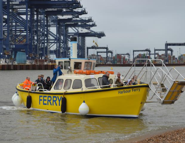 Landguard Visitor Centre and Ferry